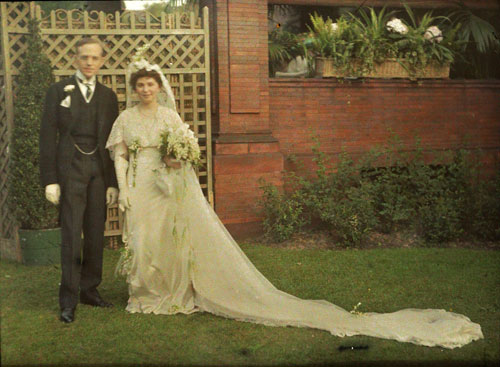 Roy and Rachel Hunt's wedding photo