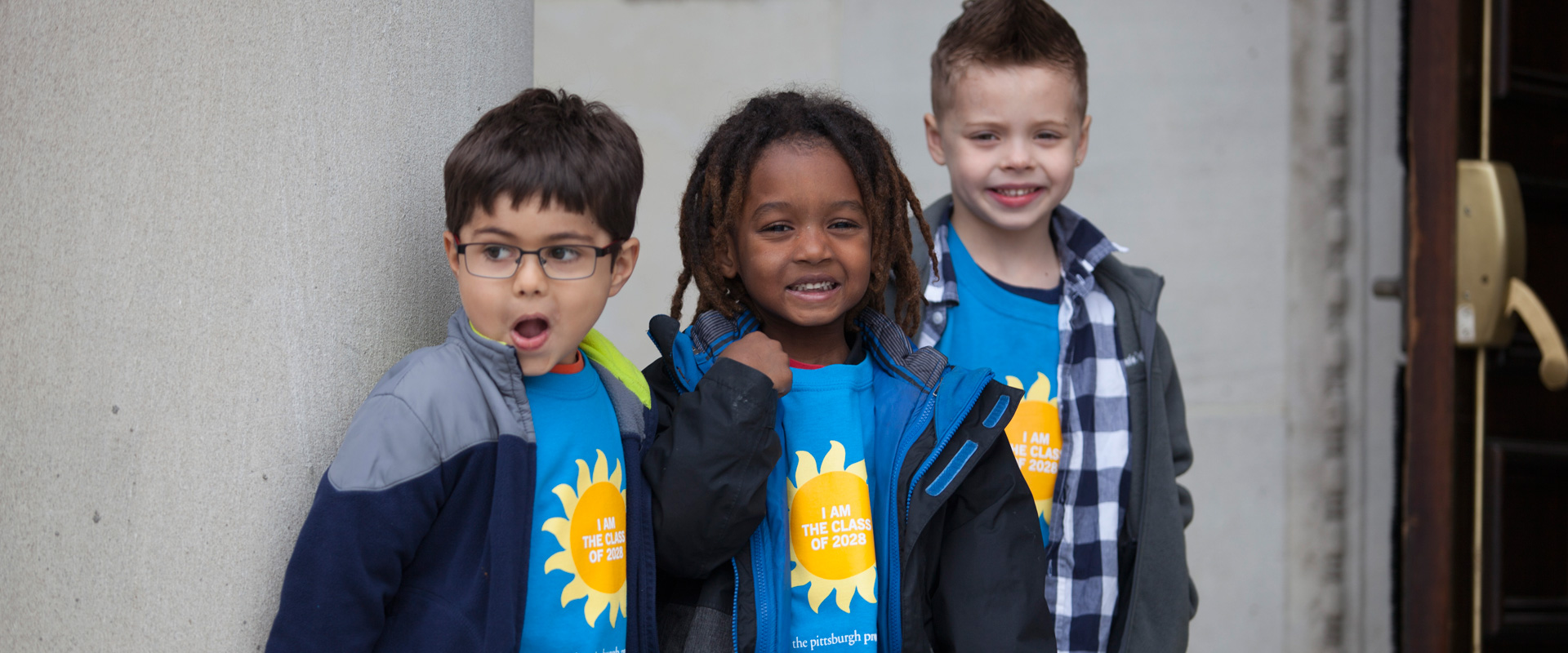 3 Pittsburgh Promise kids smiling